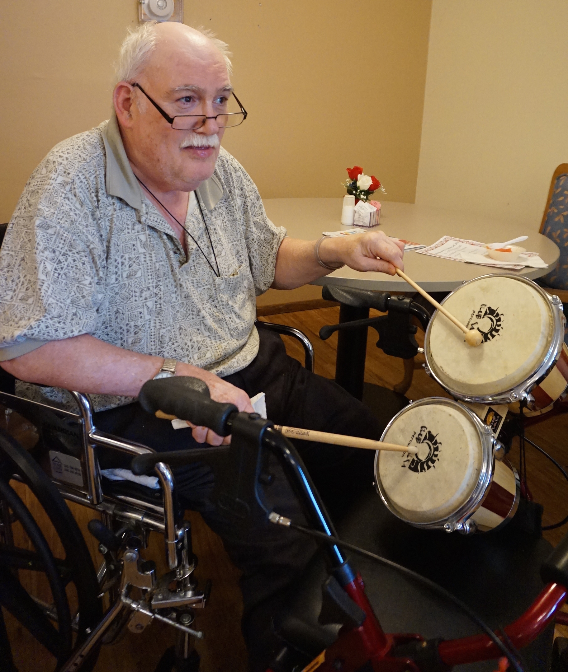 Clement Manor Assisted Living resident